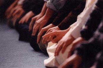 Теравих в мечети